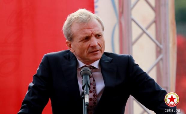 Ще плати ли Гриша Ганчев 8 млн. за емблемата? Ето какво е казал собственикът на ЦСКА (ВИДЕО)