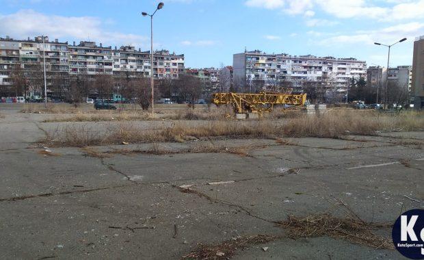 В Меден рудник правят най-големия спортен комплекс в Бургас (СНИМКИ)