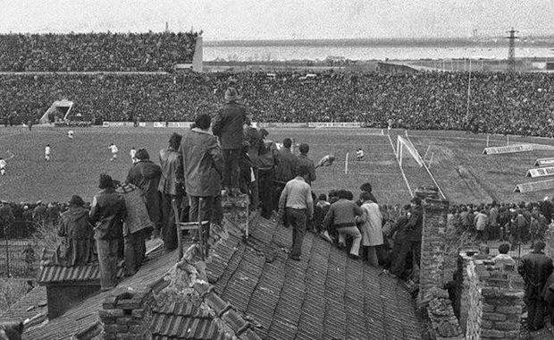 Уникална снимка: 40 хиляди на стадион Черноморец