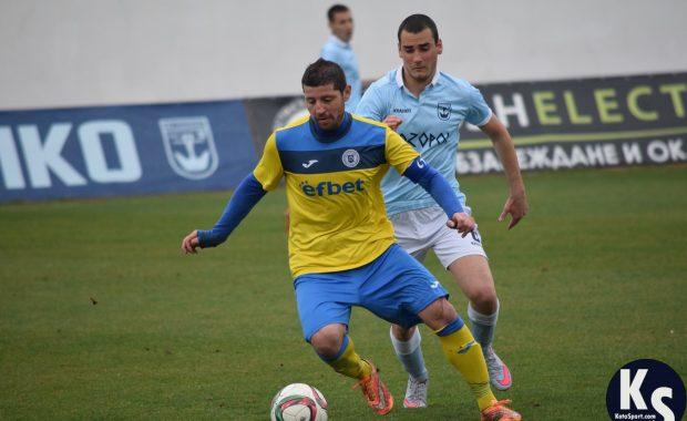 Созопол и Несебър направиха зрелищно равенство с 6 гола