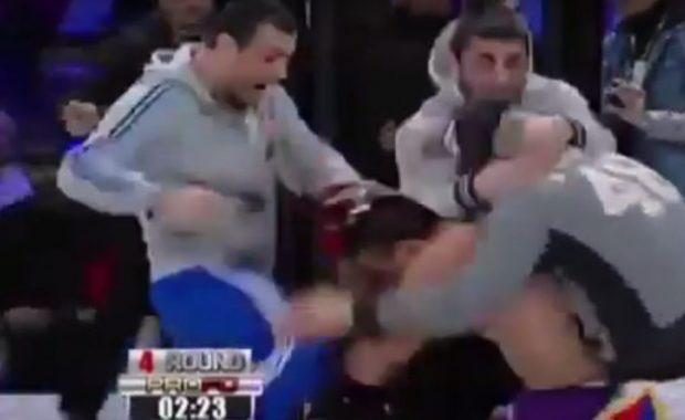 Въргал! Черногорският Макгрегър скочи да бие наш ММА боец (ВИДЕО)