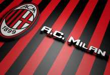ac milan logo football wallpapers hd
