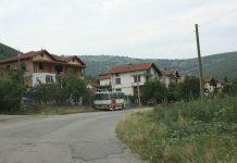 Road enering Galata