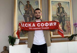 Сменилият 11 отбора нападател на ЦСКА-София: Дано се задържа по-дълго