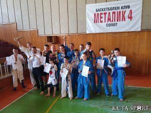 Кудо-Бургас с 4 златни купи от държавното в Сопот (СНИМКИ)