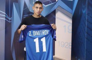 Здравко Димитров се чувства щастлив от дебюта си за България