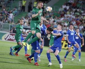 Лудогорец  отнесе ТНС и си осигури класиране в плейофния кръг на Лига Европа