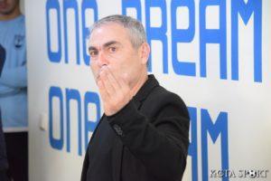 Румен Димов: Чакаме с нетърпение мача с Нефтохимик
