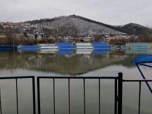Стадионът на отбор от Втора лига стана… езеро!