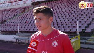 Още един млад нападател на ЦСКА-София продължава в Трета лига