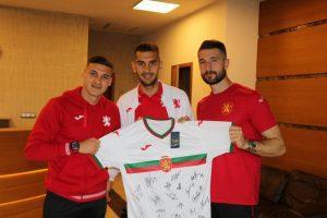 Кирил Десподов: За мен е чест да съм капитан на националния отбор!