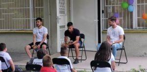 Футболистите на Локо Пд се включиха в чудесна инициатива