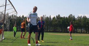 Треньор на Вихрен почва в националния